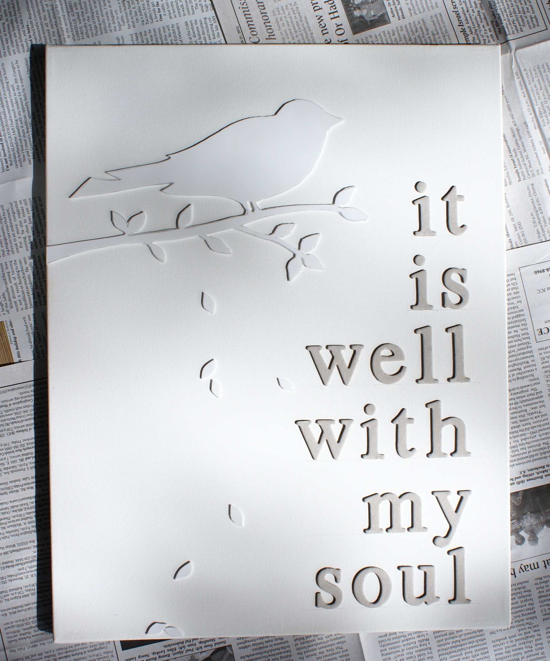 white letters on white canvas d i y artwork tutorial the