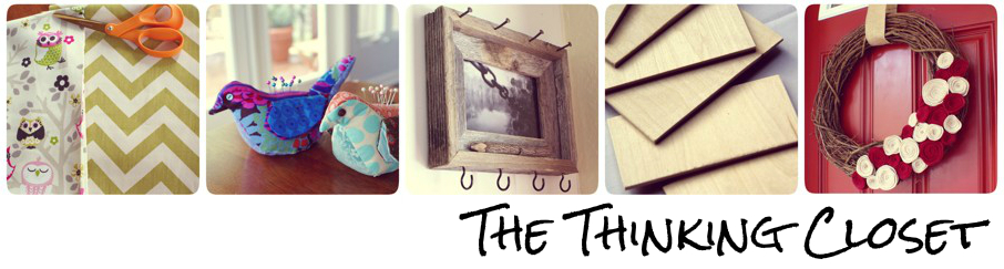 Visit my blog, The Thinking Closet!