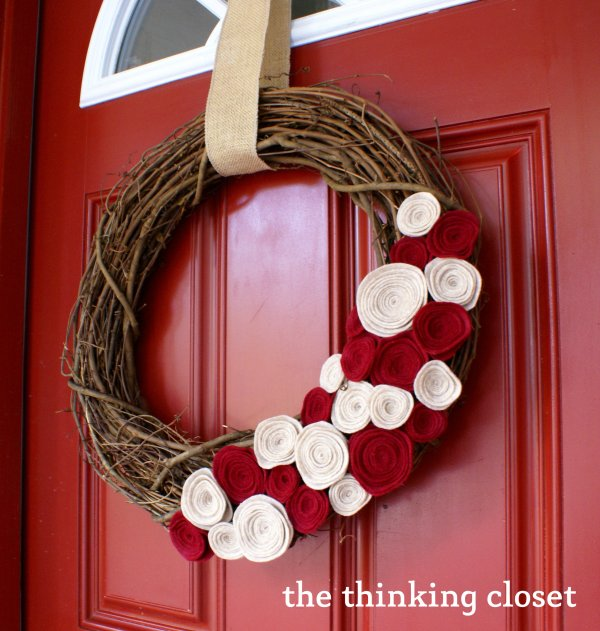 rosettes wreath