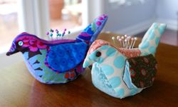 Bird Pincushion & Needle-Keep via The Thinking Closet