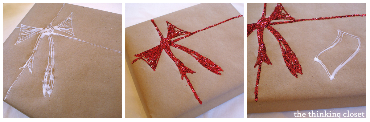 Diy Wrapping Paper Tutorial The Thinking Closet