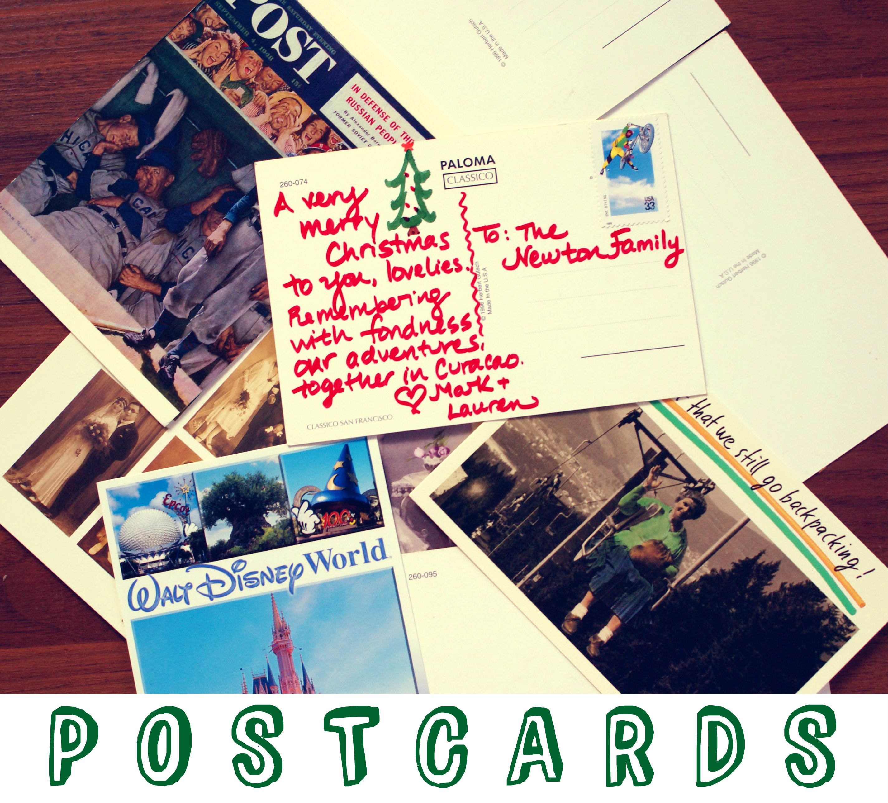 10 Ways To Go Green With Christmas Cards The Thinking Closet