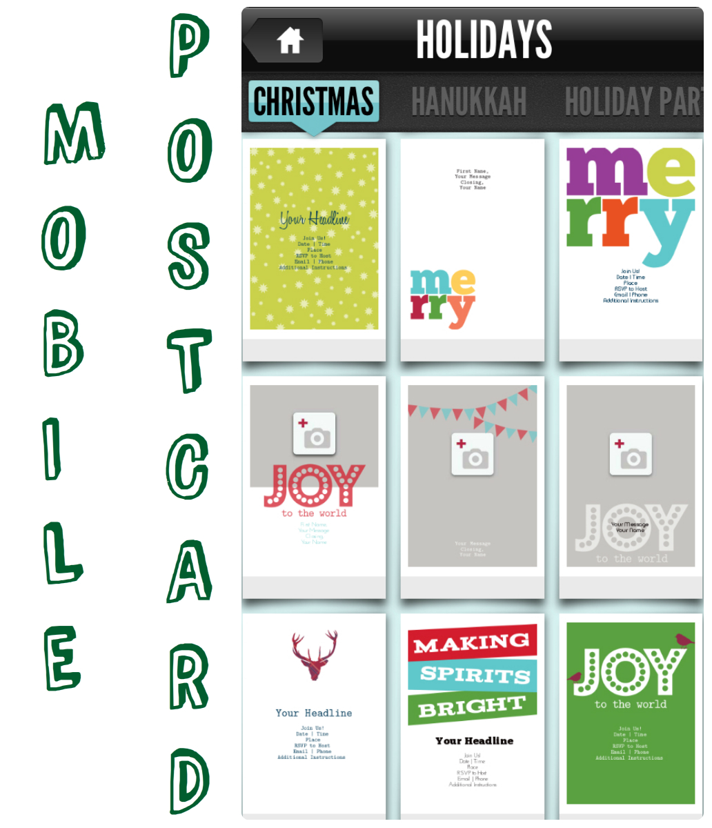 10 Ways to Go Green with Christmas Cards by The Thinking Closet