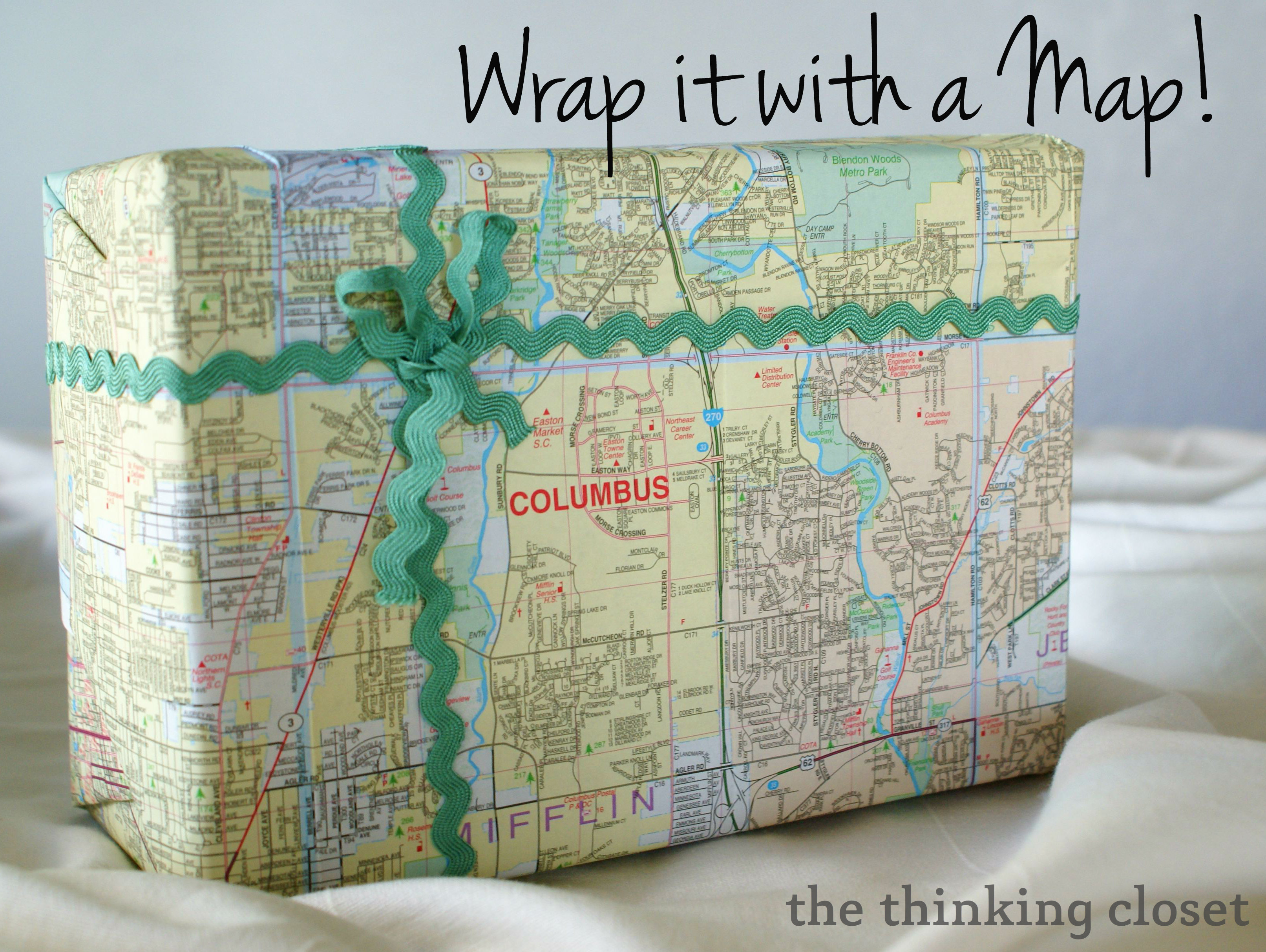DIY Wrapping Paper Tutorial - the thinking closet