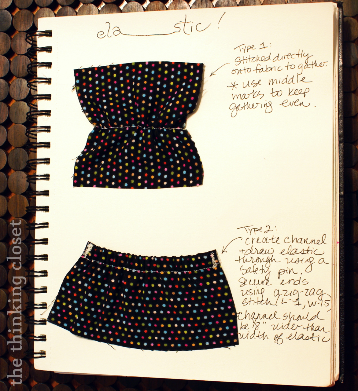 Sewing 101: Fastenings - The Thinking Closet
