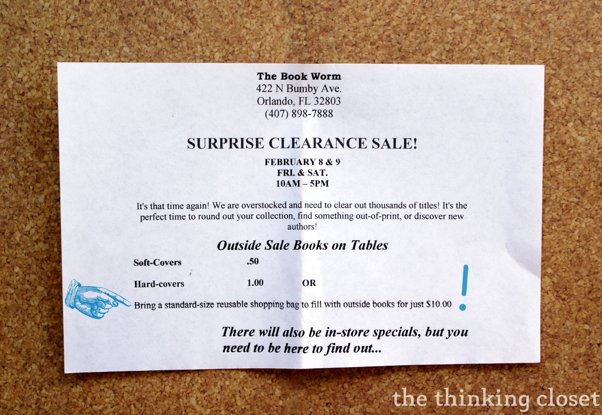 Romanced by Bookstores | The Thinking Closet