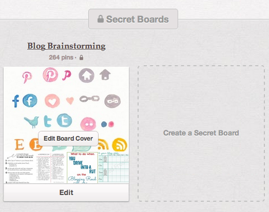 Secret Board on Pinterest